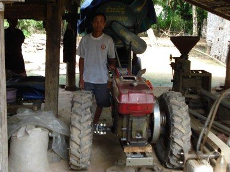 Vuth Ang, a Kiva lender