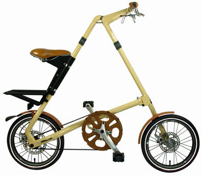 The Strida unfolded