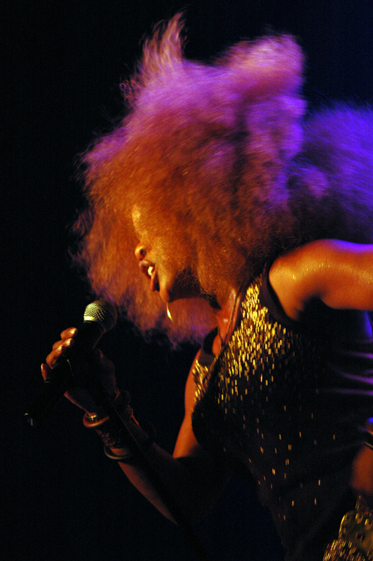 Leela James by Flickr user Pieter Baert