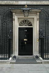 Number 10 by Flickr user Downing Street, CC licensed
