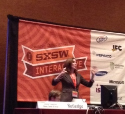 Pamela Rutledge at SxSW