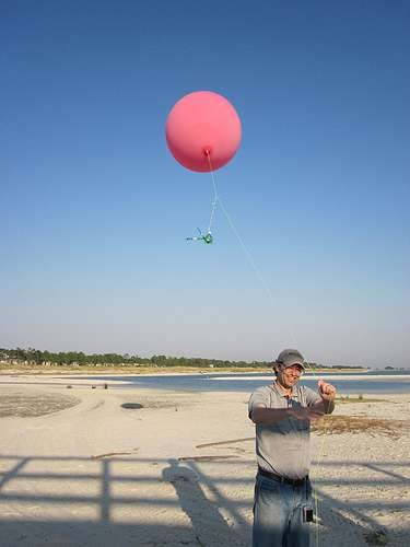 A mapping balloon (CC-licensed image)