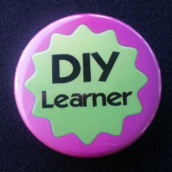One of the Learning 2012 buttons