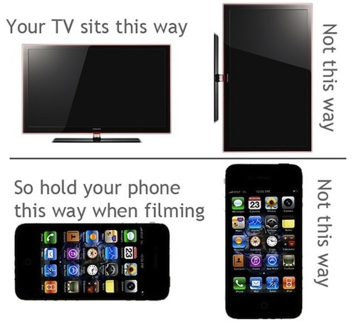 How to shoot video with your phone