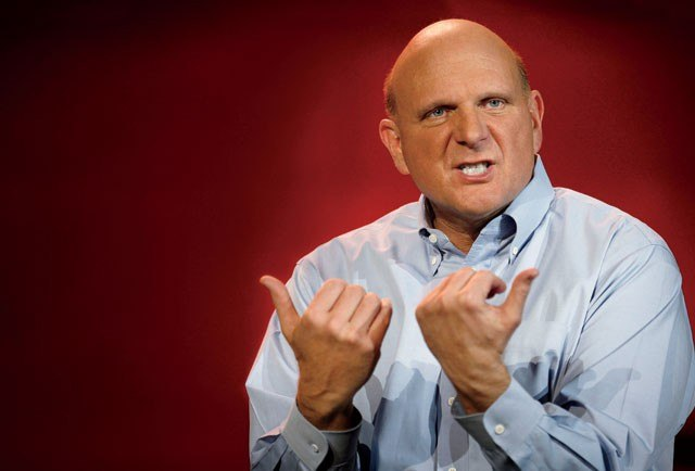 Any blogpost gets better with a Steve Ballmer picture!
