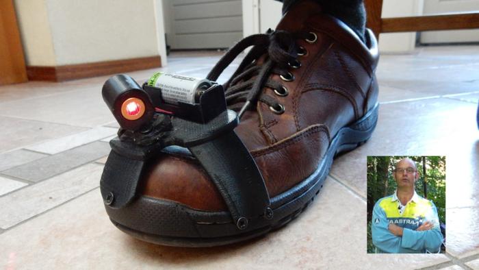 'Bomb' shoe